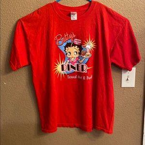 Betty Boop T-shirt Y2K